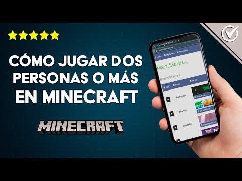 Cómo Jugar dos Personas o más en Minecraft en modo Multijugador