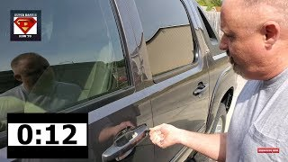 UNLOCK YOUR CAR DOOR IN 20 SECONDS WITHOUT THE KEYS