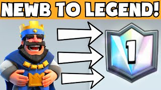 Clash Royale NEWB TO LEGEND