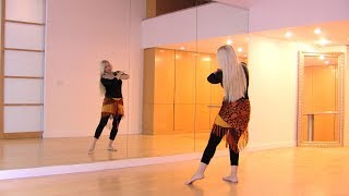 Lama Bada belly dance choreography with Neon at StarBellydancer.com
