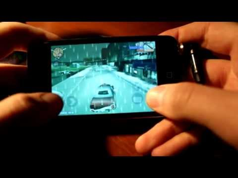 Grand Theft Auto 3 on iPod touch 4