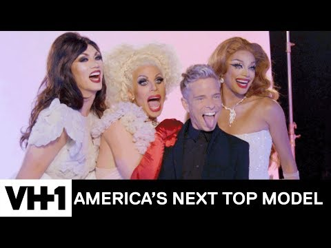 Katya, Manila & Valentina Teach the Models How to Be Queens | America's Next Top Model