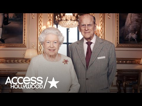 Queen Elizabeth II Knights Husband Prince Philip For Their 70th Wedding Anniversary
