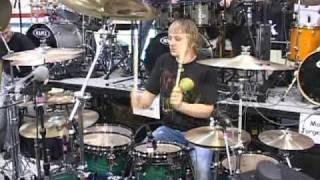 woodstick 2009 ray luzier drum solo