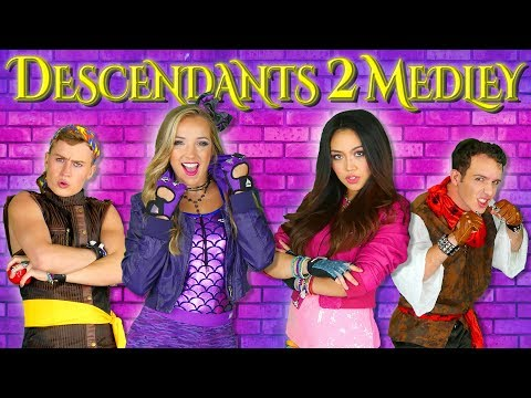 Descendants 2 Songs Medley a What's my Name Music Mashup by Totally TV.