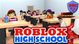 ROBLOX HIGH SCHOOL!!! conduire le seau de rouille ...