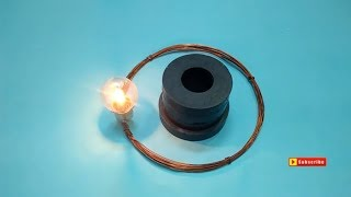 Engineers Free Energy Generator With Magnet And Copper Wire New Technology