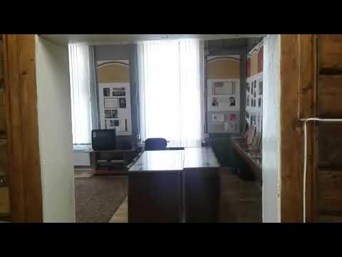 Олег Лихачев в музее Михаила Исаковского в селе Всходы Смоленской области.