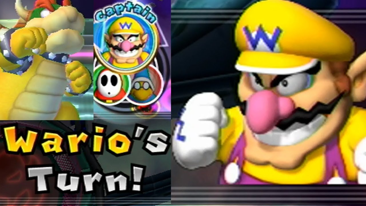 Mario Party 9 Solo Mode 112 Wario Bowser Station Youtube