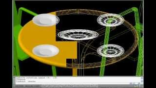 Free Autocad Tutorial - Autolisp To Build A 3d Show House 3/18