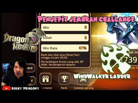 Jepitan SIALAN !!! Dragon nest M - Windwalker PVP LADDER