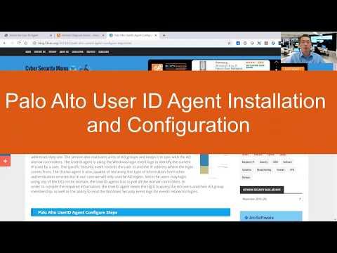 Palo Alto UserID Agent Configure Steps