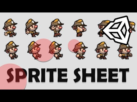 HOW TO MAKE SPRITE SHEETS FOR YOUR UNITY GAME - TUTORIAL from YouTube · Duration:  8 minutes 20 seconds