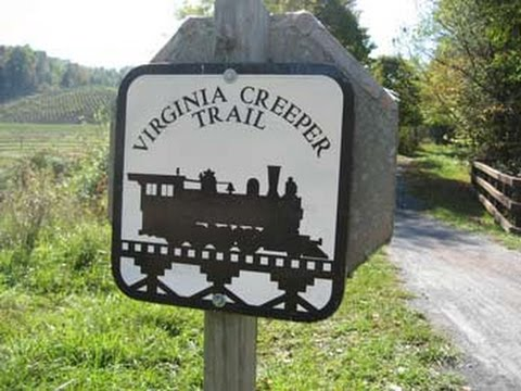 Virginia Creeper Trail Mountain Biking Adventure, Damascus, VA