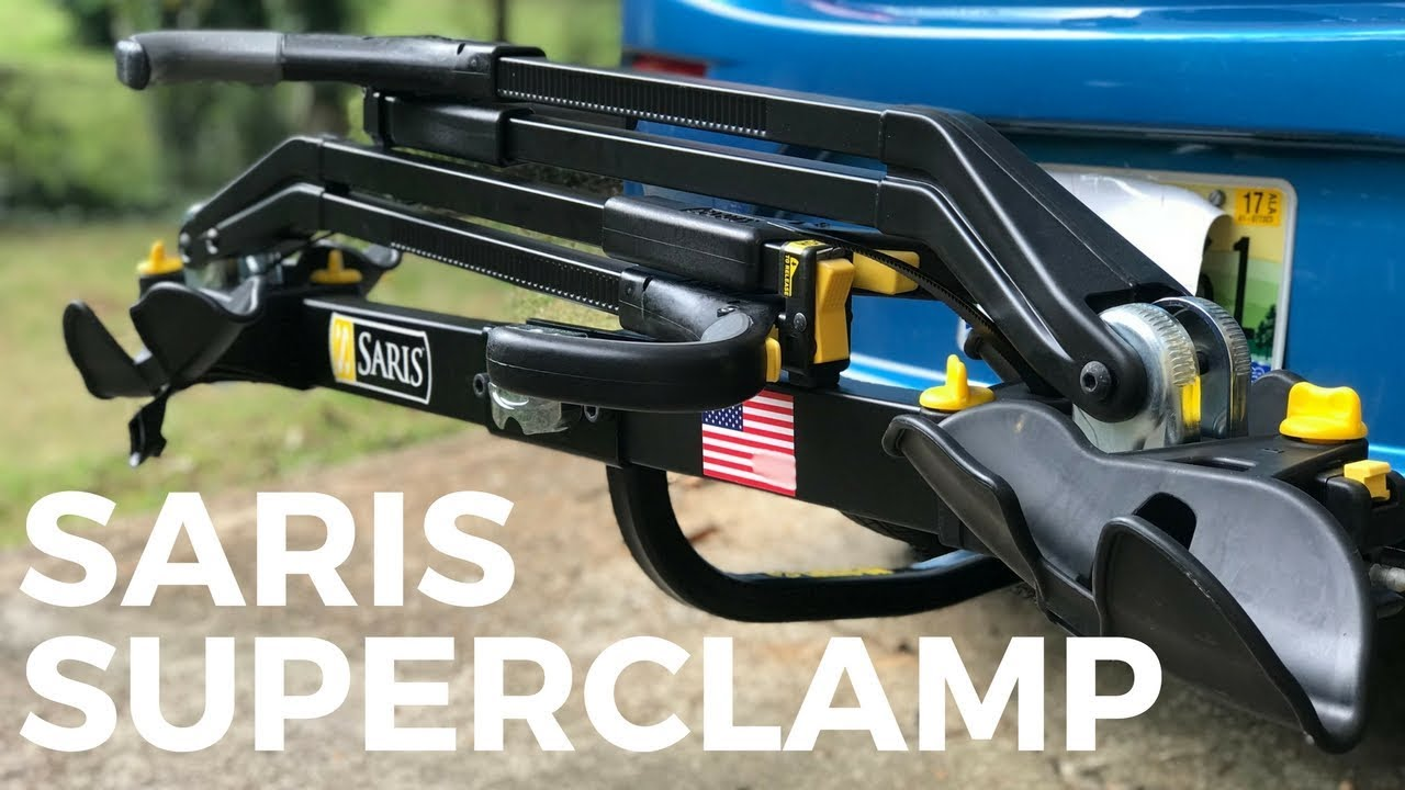 saris superclamp ex 2 bike assembly and