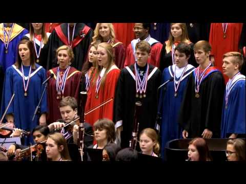 2014 Iowa All-State Chorus: The Heavens are Telling