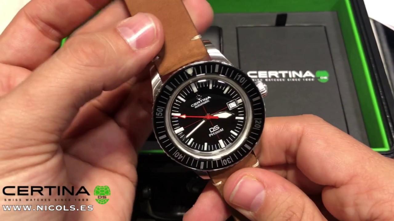 45a6b24c1ba0 Reloj Certina DS PH200M - MEJORES RELOJES DIVERS - C036.407.16.050.00
