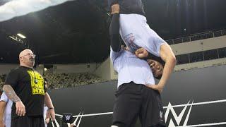 WWE prospects turn Jeddah, Saudi Arabia into suplex city