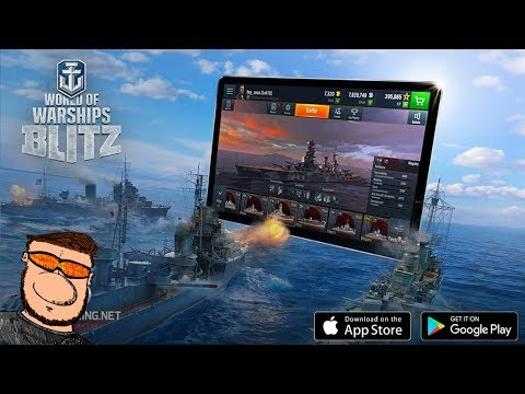 "World of Warships Blitz ""Free Ship"" + Release Date! - Wows Blitz - Gameplay Ideen - Deutsch/German"