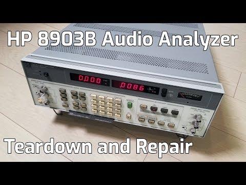 HP 8903B Audio Analyzer Teardown