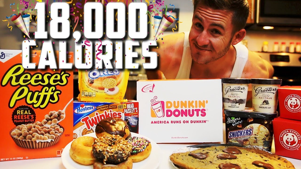 The All Star Cheat Meal Challenge 18000 Calories