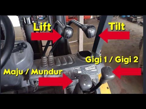 Cara Mengoperasikan Forklift