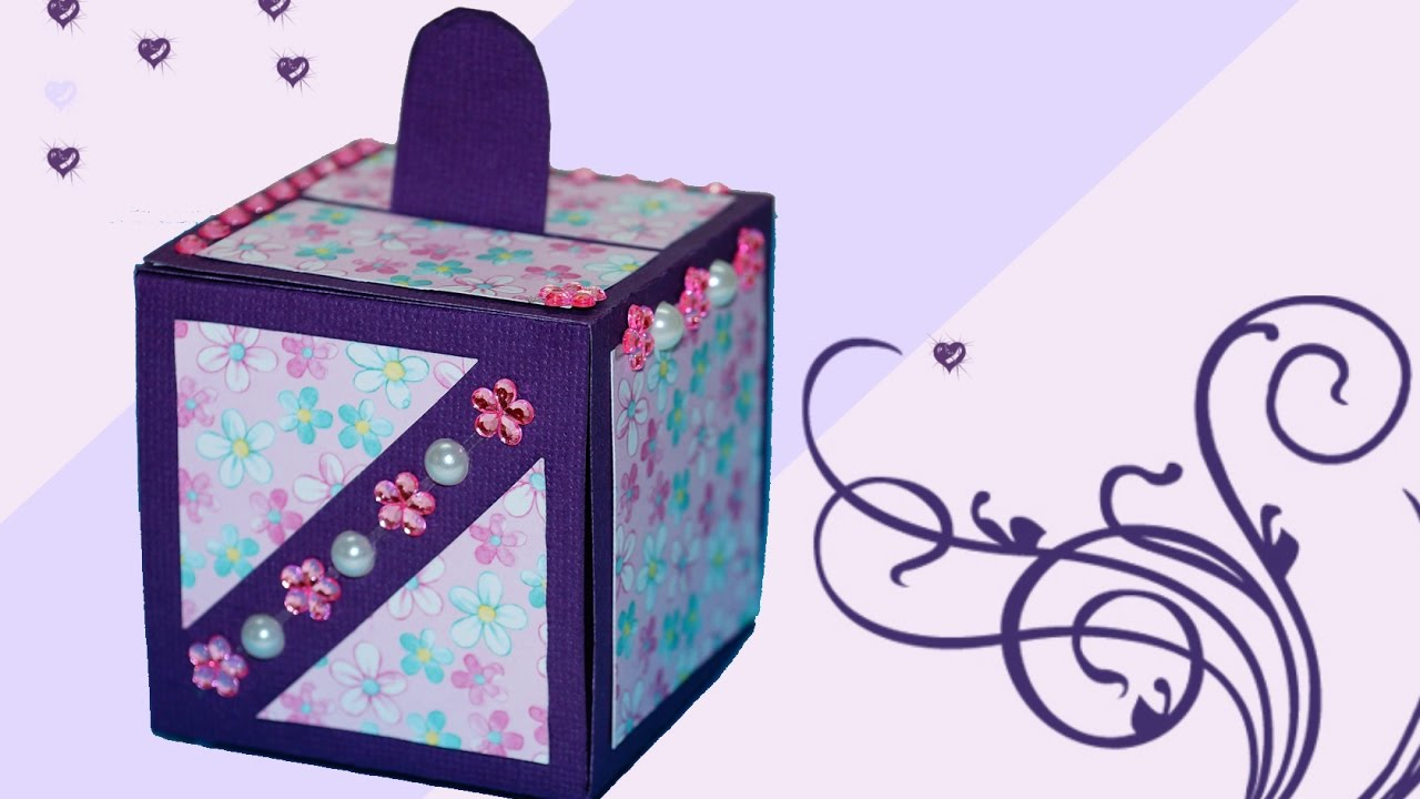 DIY Crafts Paper GIFT Box Easy How To Make Gift