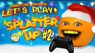 Annoying Orange Let's Play Splatter Up #2: Merry Splatmas!