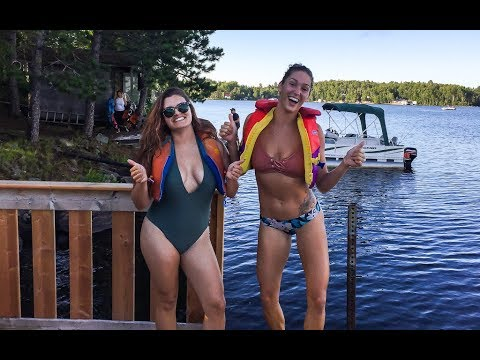 ONTARIO Adventure ~ Cottage Country | Canadian lakes ft. BURCH Family