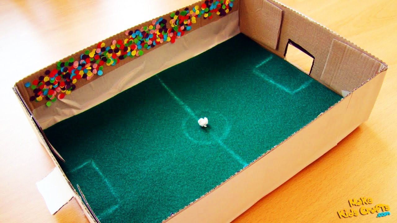 How To Make A Football Game Diy Youtube