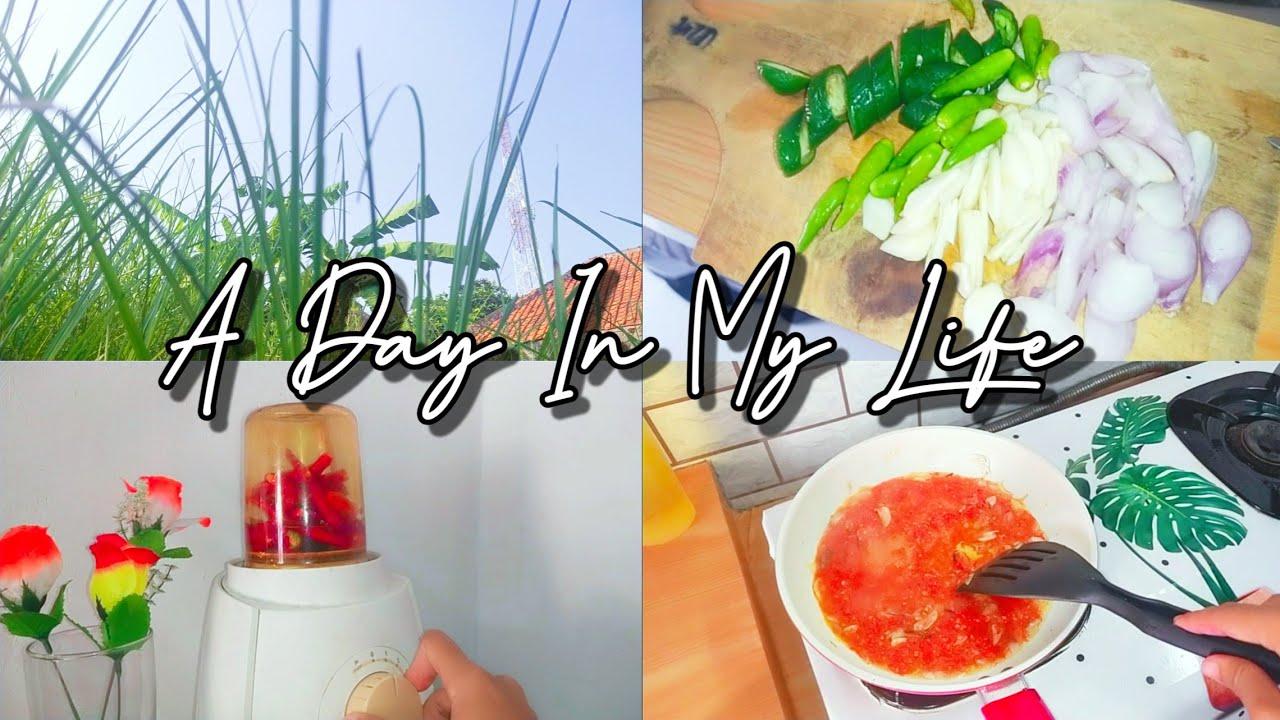 A DAY IN MY LIFE | RUTINITAS HARIAN IBU RUMAH TANGGA | JALAN JALAN SORE