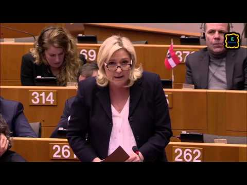 [ENG] Marine Le Pen about Brexit in the European Parliament [24.02.2016]