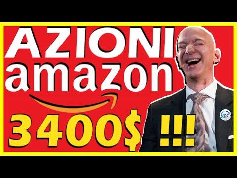 INVESTIRE IN AZIONI AMAZON? Conviene o è troppo tardi?