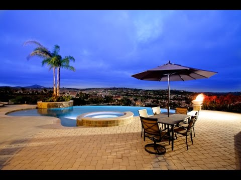 residential infinity pool. residential infinity edge pool in san diego
