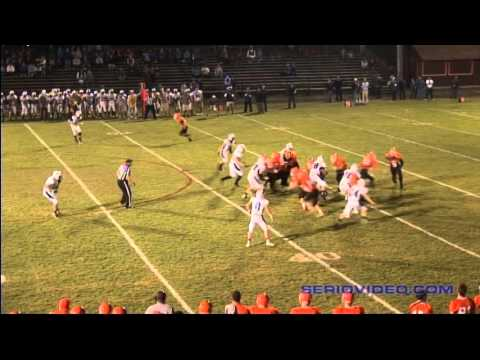 Kyle Noyes - #77 Blue/White - LB/DT/OT - Wahconah Regional High School 2015 Junior Highlights