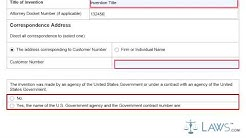 Provisional Application for Patent Cover Sheet SB16