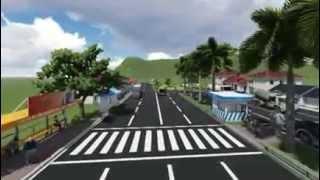 Simpang Jalan Leuwigajah-Kerkhof Kota Cimahi