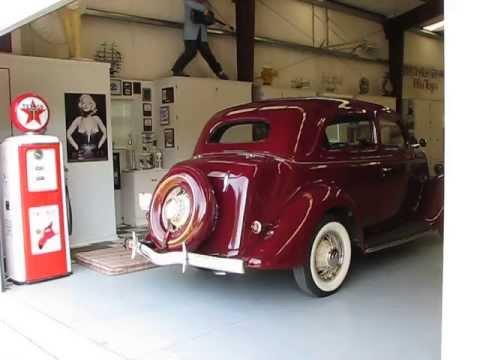 1935 ford tudor bustle back henry survivor backing out of for Garage ford maurecourt 78