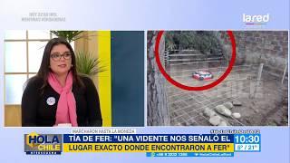 """""""Una vidente nos señaló el lugar exacto donde encontraron a Fer"""": Nicole Cuevas en Hola Chile"""