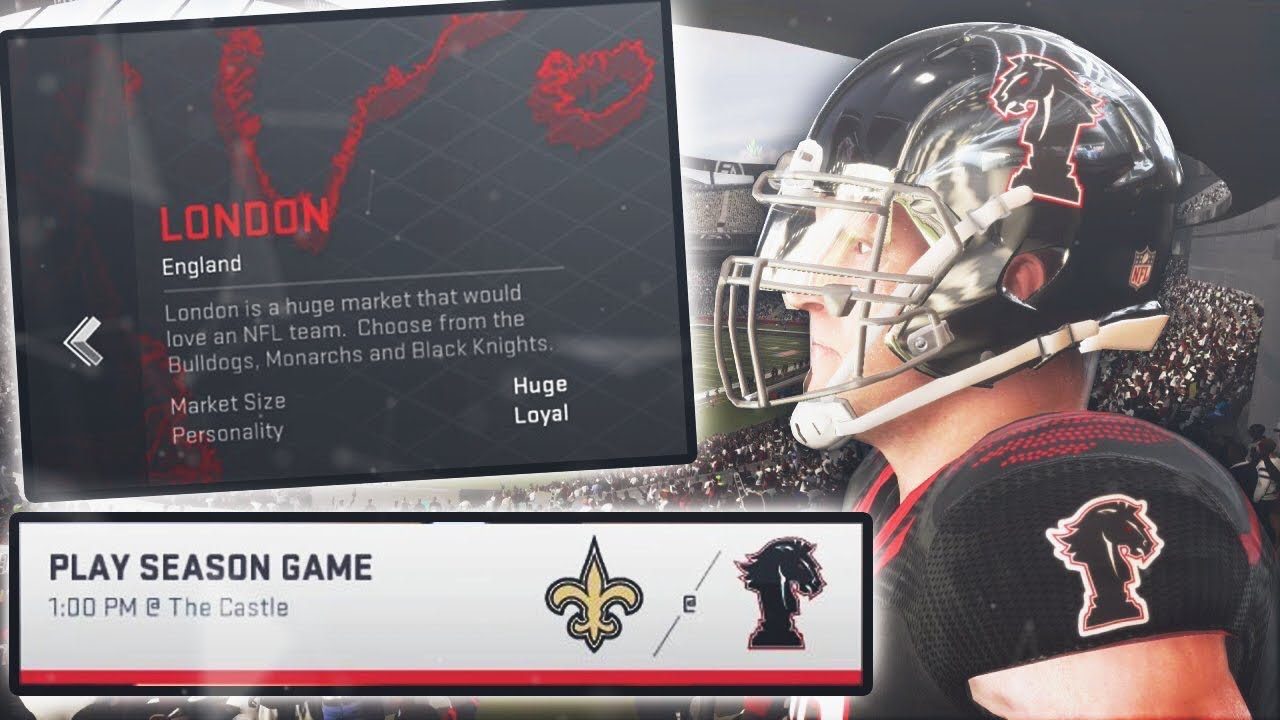 a18288248 What If London Had Its Own NFL Team  Madden 19 - YouTube