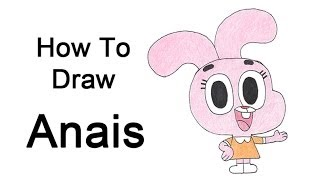 How to Draw Anais from The Amazing World of Gumball