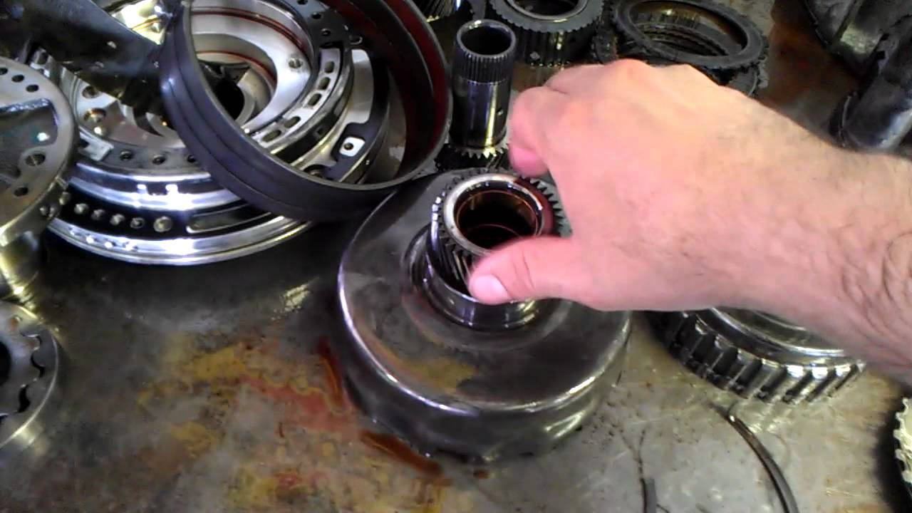 rw transmission  reverse slipping