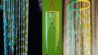 DIY Home Decor Crafts With Cotton Buds    Wall Hanging    Nusrat DIY Crafts