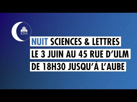 TEASER #NUITENS - Rendez-vous le 3 juin 2016 ! from YouTube · Duration:  1 minutes 45 seconds