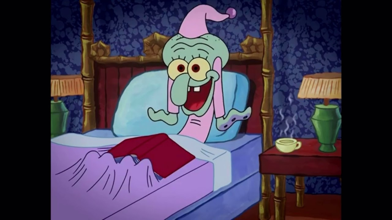 Squidward Laughing like SpongeBob for 10 Minutes - YouTube