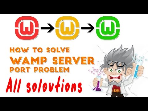 WAMP Server All Solutions - Wamp Server Still Red Or Doesn't Work Properly 2020
