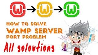 [HINDI] wamp server All solutions | wamp server still red |wamp doesnot work proper