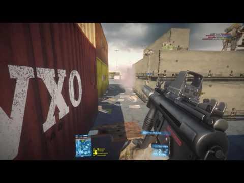 Battlefield 3 Loadout M5K Holo+Flash Light+Suppressor+M9