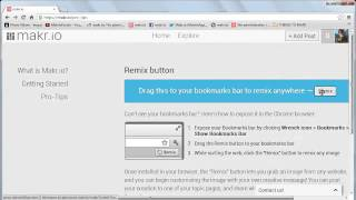How to Find and Use the Makr.io Remix Button