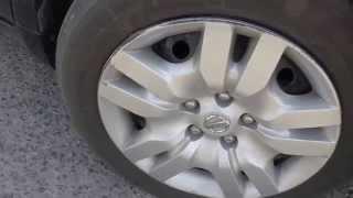 Nissan altima test drive